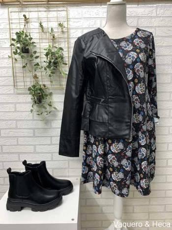 Vestido-calaveras-evasé-multicolor-2