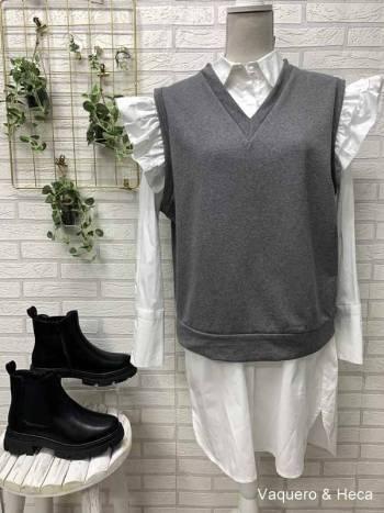 Chaleco-algodón-gris