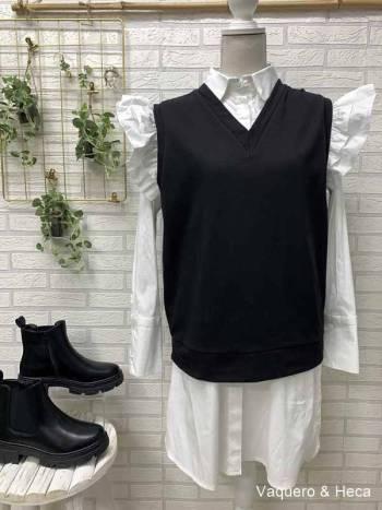Chaleco-algodón-negro