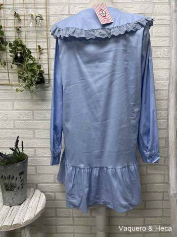 Vestido-camisero-cuello-bebé-azul-claro-2