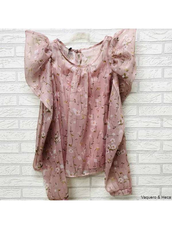 Blusa-flores-manga-abullonada-rosa-empolvado